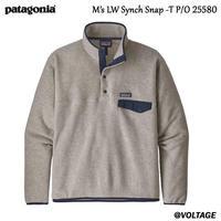 パタゴニア Patagonia M's LW Synch Snap -T P/O 25580 OAT M メンズ・ライトウェイト・シンチラ・スナップT・プルオーバー  正規品