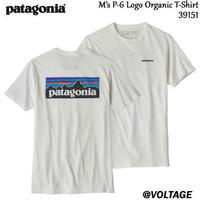 パタゴニア patagonia M's P-6 Logo Organic T-Shirt 39151  メンズ・P-6ロゴ・オーガニック・Tシャツ 正規品 2019 春モデル