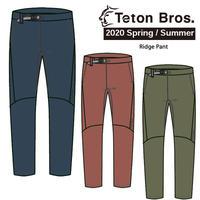 Teton Bros. ティートン ブロス  Ridge Pant Men TB201-11M  メンズ カーゴ パンツ  2020 Spring&Summer