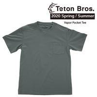 Teton Bros. ティートン ブロス Vapor Pocket Tee Men TB201-29M メンズ ポケット Tシャツ 半袖 2020 Spring&Summer