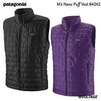 パタゴニア M's Nano Puff Vest 84242 メンズ・ナノ・パフ・ベスト 正規品