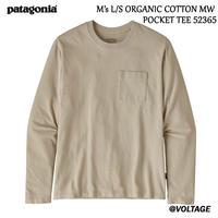 パタゴニア patagonia M's L/S ORGANIC COTTON MW POCKET TEE 52365 メンズ・ロングスリーブ・オーガニックコットン・ミッドウェイト・ポケット・ティー