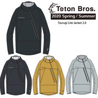 Teton Bros. ティートン ブロス  Tsurugi Lite Jacket 2.0 Unisex TB201-03M ツルギ ライト ジャケット 2020 Spring&Summer