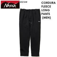NANGA ナンガ CORDURA FLEECE LONG PANTS MEN コーデュラ フリース ロング パンツ メンズ NANGA DOWN WEAR 2021