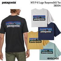 パタゴニア patagonia M'S P-6 Logo Responsibili Tee 38504 メンズ・P-6ロゴ・レスポンシビリティー