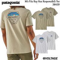 パタゴニア patagonia M's Fitz Roy Hex Responsibili-Tee 38439 メンズ・フィッツロイ・ヘックス・レスポンシビリティー 正規品 2019 春モデル