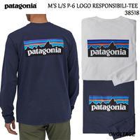 パタゴニア patagonia M'S L/S P-6 LOGO RESPONSIBILI-TEE 38518 メンズ・ロングスリーブ・P-6ロゴ・レスポンシビリティー