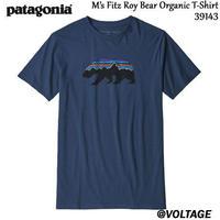 パタゴニア patagonia M's Fitz Roy Bear Organic T-Shirt SNBL 39143 メンズ・フィッツロイ・ベア・オーガニック・Tシャツ 正規品 2019 春モデル