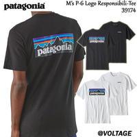 パタゴニア patagonia M's P-6 Logo Responsibili-Tee 39174 メンズ・P-6ロゴ・レスポンシビリティー 正規品 2019 春モデル