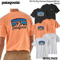 パタゴニア patagonia M's Fitz Roy Horizone Responsibili-Tee 38440 メンズ・フィッツロイ・ホライゾンズ・レスポンシビリティー正規品 2019 春