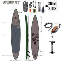 SOUYU STICK 漕遊 2020 ソーユースティック EXPEDITION 12'6'' エクスペディション サップ SUP インフレータブル スタンドアップパドルボード ソウユウスティック