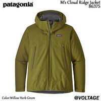 パタゴニア Patagonia M's Cloud Ridge Jacket 84985 メンズ・クラウド・リッジ・ジャケット Willow Herb Green Sサイズ 正規品