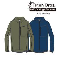 Teton Bros. ティートン ブロス  Long Trail Hoody Men TB201-06M メンズ トレイル フーディ  2020 Spring&Summer