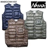 NANGA ナンガ INNER DOWN VEST インナーダウンベスト メンズ インナーダウン ベスト NANGA DOWN WEAR 2020 AUTUMN/WINTER