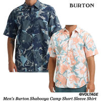 BURTON バートン Men's Burton Shabooya Camp Short Sleeve Shirt メンズ 半袖 シャツ 2019 春夏モデル Spring Summer