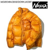NANGA ナンガ MOUNTAIN LODGE DOWN JACKET マウンテンロッジダウンジャケット メンズ ポケッタブル NANGA DOWN WEAR 2020 AUTUMN/WINTER