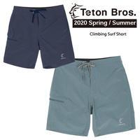 Teton Bros. ティートン ブロス Climbing Surf Short Men TB201-12M メンズ パンツ ショートパンツ 水陸両用 2020 Spring&Summer
