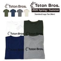 Teton Bros. ティートン ブロス  Standard Logo Tee Men TB201-35M  メンズ Tシャツ 半袖 2020 Spring&Summer