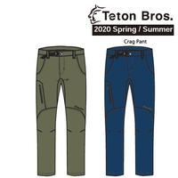 Teton Bros. ティートン ブロス  Crag Pant Men TB201-10M メンズ カーゴ パンツ  2020 Spring&Summer