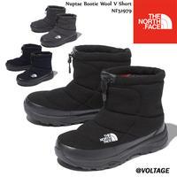 The North Face ノースフェイス Nuptse Bootie Wool V Short NF51979 K N C ヌプシブーティーウールVショート  ブーツ  ザ・ノース・フェイス