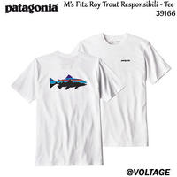 パタゴニア patagonia M's Fitz Roy Trout Responsibili - Tee 39166 メンズ・フィッツロイ・トラウト・レスポンシビリティー 正規品 2019 春モデル