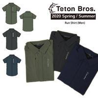 Teton Bros. ティートン ブロス Run Shirt Men  TB201-51M メンズ シャツ 半袖 2020 Spring&Summer