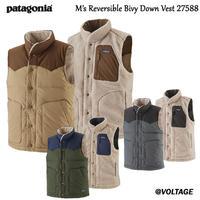 パタゴニア M's Reversible Bivy Down Vest 27588 メンズ・リバーシブル・ビビー・ダウン・ベスト  正規品