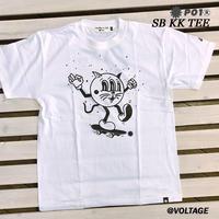 PO1 PLAY DESIGN プレイデザインSB KK TEE 半袖 Tシャツ WHITE Mサイズ アウトドア キャンプ PLAYDESIGN