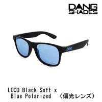 DANG SHADES ダンシェイディーズ LOCO Black Soft x Blue Polarized(偏光レンズ) サングラス ダン・シェイディーズ ユニセックス vidg00272-2
