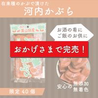 【限定販売】福井県 美山市特産  河内かぶら