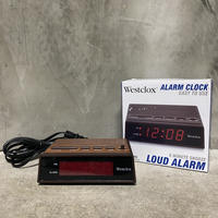 "WESTCLOCKS ""RetroType LED Alarm Clock"""