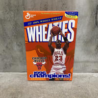 "Vintage Wheaties ""1996 NBA CHAMS Chicago Bulls"""