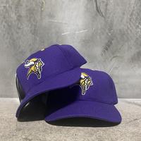 """90's Logo Athletic NFL """"Minnesota Vikings"""" snapback"""