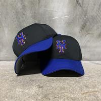 """【GIRLS】90's OC Sport """"MLB NY METS"""" Hat&Earring"""