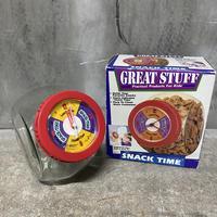 "90's GREATSTUFF ""SNACK TIME""cookie jar"