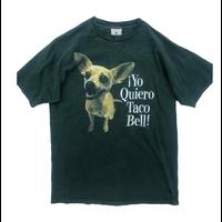 【USED】90's Tacobell chihuahua Tee