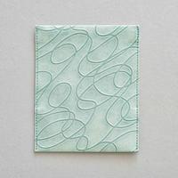 カードケース・curve(浅葱色)