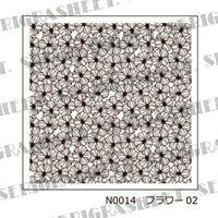 Nail-200 (N0014) フラワー02