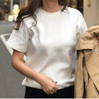 シンプルフライスTシャツ