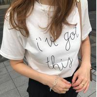 Stitch print logo t-shirts