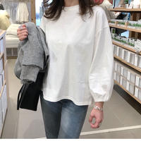 puff sleeve pull over