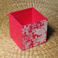桜のペン立て(ピンク)