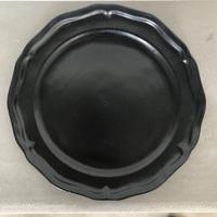 亀田文 8.5寸ピュータリム皿 3color