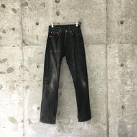 Levi's black denim (made in USA)  B4