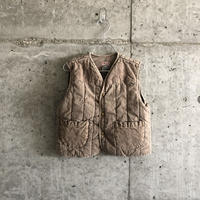 Duck×quilting  down vest