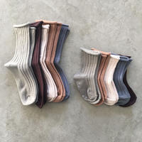 Rib Socks 5 color set