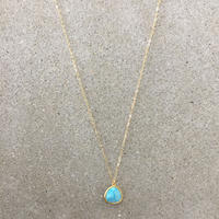 14kgf  hand made necklace(turquoise)
