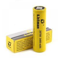 Listman IMR 20700 バッテリー 3400mAh/40A