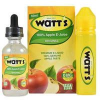 Watts 100% Apple リキッド 60ml