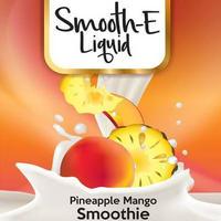 Smooth-E liquids Pineapple Mango Smoothie 60ml リキッド